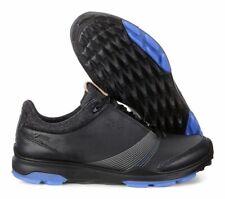 New In Box ECCO Ladies Golf Biom Hybrid 3 Shoe Style 125503 01001 BLACK Gore-Tex