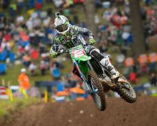 Ryan Villopoto Motocross Kawasaki Rider Color 11x14 Photo #2