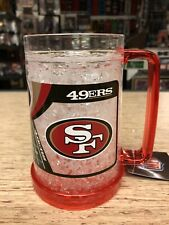 San Francisco 49ers Crystal Freezer Mug- Nice!