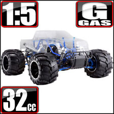 Redcat Racing Rampage MT Pro V3 1/5 Scale 4WD Gas Monster RC Truck Clear ~ NEW