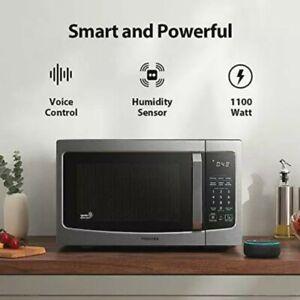 Toshiba Smart Matters ML-EM34P (SS) Microwave Oven 1.3 Cu Ft Alexa Compatible