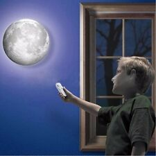 New Romatic LED Light Moon Nightlight Wall Lamp with Remote Control US Direct