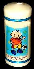 1st Birthday Candle personalised  Baby boy football Cellini Candles Unique  #1