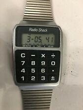 Vintage Radio Shack 63-5021 Fully Functional Calculator Wristwatch Watch