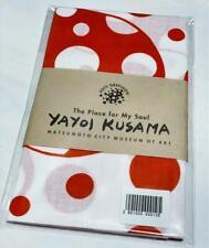 Yayoi Kusama Matsumoto City Art Museum Limited Tenugui Red and White