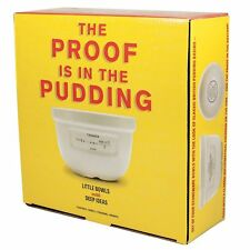 Proof is in the Pudding Bowls - Set of Four Small Pudding Bowls
