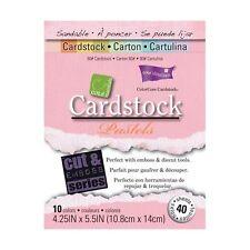 ColorCore Cartulina Core Essentials-Pasteles 40 hojas de 4.25 X 5.5