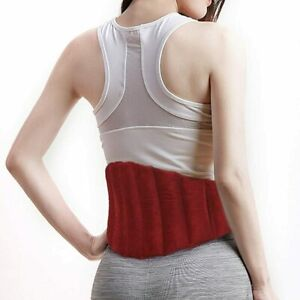 Aroma Season Heating Pad Microwaveable for Back Pain Relief Adjustable Menstrual