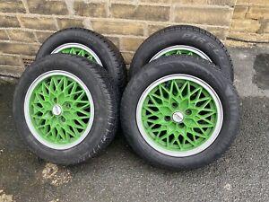"14"" x6JJ ATS Mesh Alloy wheels *BBS Reps 4x100 PCD EuroLook VW Toyota Honda"