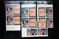 Great Britain Mint War Savings Stamp Pair Lot