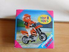 Playmobil Special Boy + Motor cross bike in Box (playmobil nr: 4698)