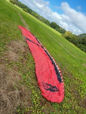 paramotor wing used with kiting harness and carrying bag paragliding