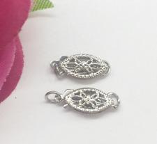 10pcs Wholesale DlY Handmade Accessories Bracelet Necklace Fishtail Clasp