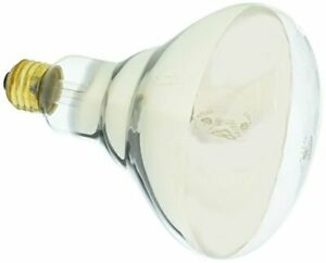Satco Products S4999 250R40 Medium Base 1 Clear Heat Lamp