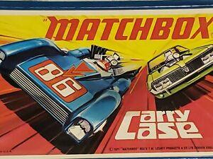 MATCHBOX 24 CAR CARRYING CASE 1971