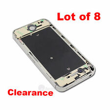 8x Silver Middle Housing Frame Midframe Bezel Full Parts assembly For iphone 4S