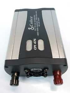 Cobra CPI 475 Power Inverter 2 110V Outlets 1 USB