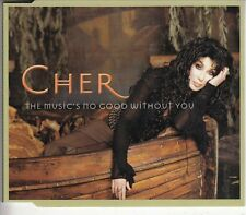 CHER - The Music's No Good Without You - CD SINGLE