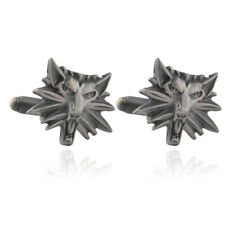 Wolf Head Similar The Witcher 3 - High Quality Novelty Cufflink
