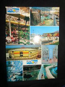 Butlin's Holidays Funcoast World Postcards x 2  Skegness 1991  multiview