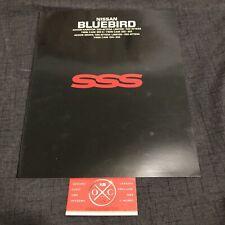 Vintage Nissan Bluebird Brochure JDM Rare 87-92 88 89 90 Datsun SSS Maxima U12