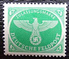 Deutsche Reich Feldpost Mi 4 **, Zulassung für Weihnachts-Päckchen