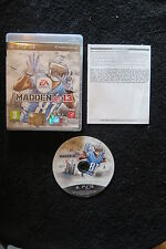 PS3 : MADDEN NFL 13 - Completo ! Il gioco della National Football League !
