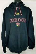Chase Authentics Jeff Gordon NASCAR Dupont Motorsports Hoodie Embroidered Wmn XL