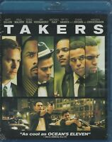 Takers (Blu-ray Disc, 2011)Matt Dillon, Idris Elba, T.I., Paul Walker,