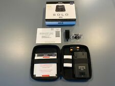 New ListingEscort Solo S3 Cordless Radar Detector Excellent Condition + Visor Clip