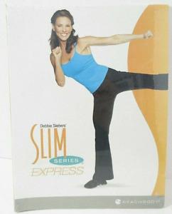 Beachbody Slim In 6, Debbie Siebers SLIM SERIES EXPRESS  5 Workout 2-DVD Program