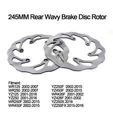 Rear Brake Disc Rotor For Yamaha WR125 250 WR250F 450F WR426F YZ125 250 YZ250FX