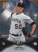 2016 Bowman Platinum Baseball #56 Jameson Taillon RC Pittsburgh Pirates