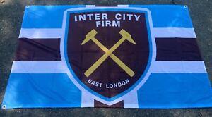 WEST HAM UNITED 3 X 5FT FLAG/BANNER
