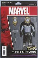 WHAT IF? THOR #1 CHRISTOPHER ACTION FIGURE VARIANT MARVEL COMICS LOKI NM