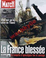 paris Match 2641 du 06/01/2000 Tempête France Marée noire Erika Henri Luxembourg