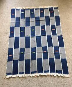 Baule Fabric, African Indigo Textile
