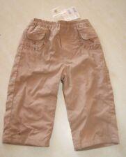 Pantalon marron doublé neuf taille 12 mois marque Grain de Blé étiqueté à 17,95€