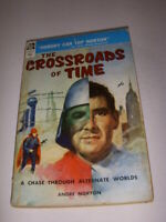 THE CROSSROADS OF TIME by ANDRE NORTON, ACE BOOK, 1956, VINTAGE PAPERBACK!