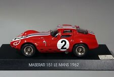 Maserati 151 Le Mans 1962 1/43 - BBR photoetched wire wheels