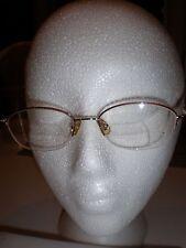 71c003c6380 MARCHON TRES JOLIE 118 Eyeglasses BURGUNDY WINE COLOR WOMEN HALF RIM