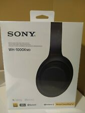 BRAND NEW SONY WH-1000XM3/B WIRELESS OVER EAR NOISE CANCELING HEADPHONES SEALED!