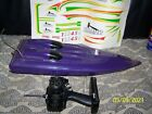 Aquacraft Hammer,V Hull 550 Brushed motor-Nice  condition-Never used-In Box