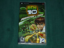 Ben 10: Protector of Earth  (PlayStation Portable, 2007) with Book!