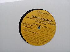 Mark Albano - Here comes that Rainy Day Feeling Again NEU