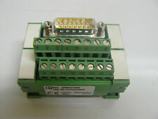 PHOENIX CONTACT UM45-D15SUB/S VARIOFACE MODULE W/15POS SCREW CONNECTION 2962780