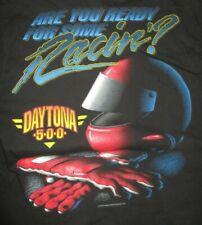 1995 Daytona 500 Winston Cup NASCAR (MED) Shirt w/ Pocket STERLING MARLIN Winner