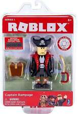 ROBLOX Series 1 Action Figure - Captain Rampage With Virtual Code