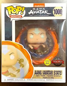 FUNKO POP *IN HAND* AANG ALL ELEMENTS AVATAR STATE GLOWS IN DARK SPECIAL EDITION