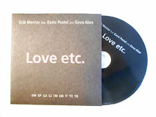 DUB MENTOR feat. KARNI POSTEL & GEVA ALON : LOVE ETC. ♦ CD SINGLE PORT GRATUIT ♦